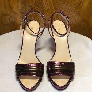 PRADA Ankle Strap High Heel Sandals 6.5